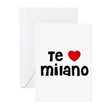 Te * Milano Greeting Cards (Pk of 10)