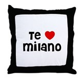 Te * Milano Throw Pillow