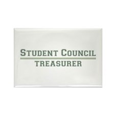Student Council - Treasurer Rectangle Magnet (10 p
