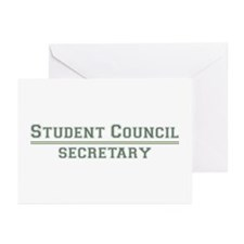 Student Council - Secretary Greeting Cards (Pk of