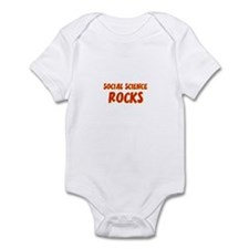 Social Science~Rocks Infant Bodysuit