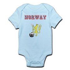 Norway football badge Infant Bodysuit