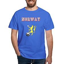Norway football badge T-Shirt