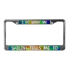 Do what Shiloh License Plate Frame