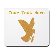 Distressed Brown Eagle (Custom) Mousepad