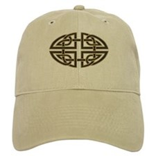 Celtic Knotwork (black) Baseball Cap