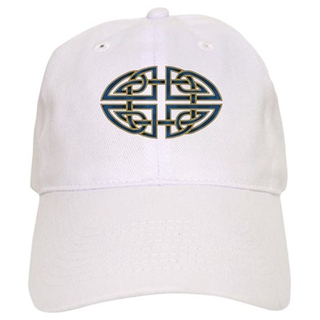 Celtic Knotwork (blue) Cap