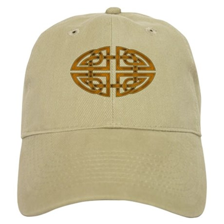 Celtic Knotwork (gold) Cap
