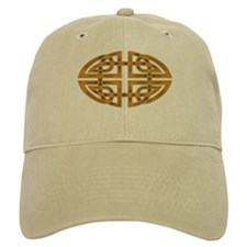 Celtic Knotwork (gold) Baseball Cap