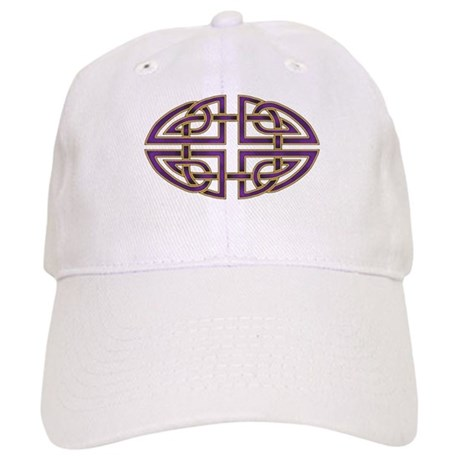 Celtic Knotwork (purple) Cap