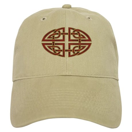 Celtic Knotwork (red) Cap