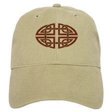 Celtic Knotwork (red) Baseball Cap