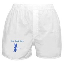 Distressed Blue Dragonfly (Custom) Boxer Shorts