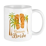 Tropical Cancun Bride Coffee Mug