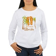 Tropical Jamaica Bride T-Shirt