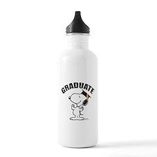 Snoopy Graduate Water Bottle