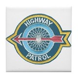 Highway Patrol Tile Coaster