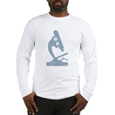 Vintage Microscope Long Sleeve T-Shirt