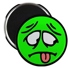 "Sick Smilie 2.25"" Magnet (100 pack)"