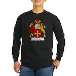 Latimer Family Crest Long Sleeve Dark T-Shirt