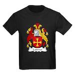 Latimer Family Crest Kids Dark T-Shirt