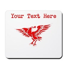 Distressed Red Eagle (Custom) Mousepad