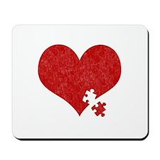 Autism Heart - Mousepad