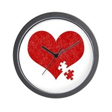 Autism Heart - Wall Clock