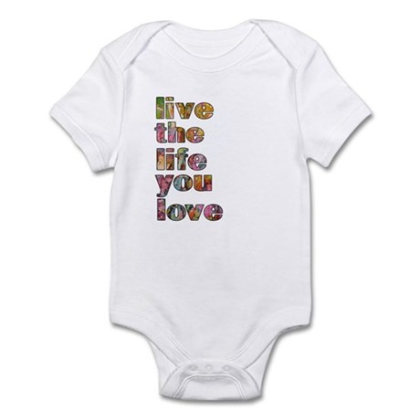 Live Life Infant Bodysuit