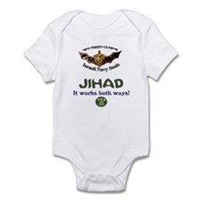 IDF Seals JIHAD Infant Bodysuit