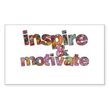 Inspire Rectangle Decal
