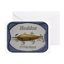 Heddon Fat Body Greeting Cards (Pk of 10)