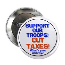 Support or Cut Troops Taxes Button