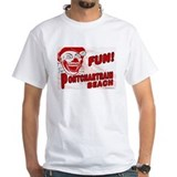 Pontchartrain Beach White T-shirt