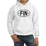 Finland Euro Oval Hooded Sweatshirt