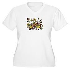 Cute Biker art T-Shirt