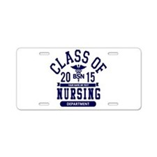 Class of 2015 BSN Aluminum License Plate