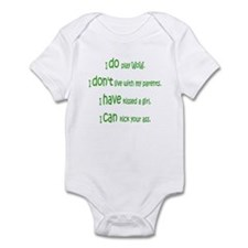 WoW Rules Infant Bodysuit
