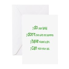 WoW Rules Greeting Cards (Pk of 10)