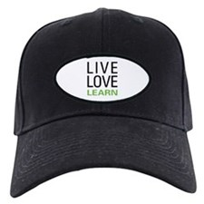 Live Love Learn Baseball Cap
