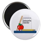 "Kindergarten Teacher (Notebook) 2.25"" Magnet (10 p"