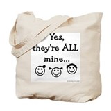 Yes, they are ALL Mine - TRP Tote Bag