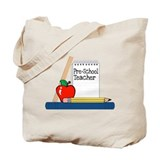 Pre-School Teacher (Notebook) Tote Bag