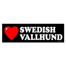 SWEDISH VALLHUND Bumper Bumper Sticker