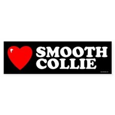 SMOOTH COLLIE Bumper Bumper Sticker