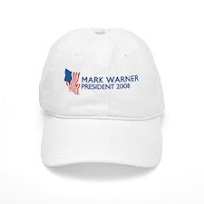 MARK WARNER for President Baseball Cap