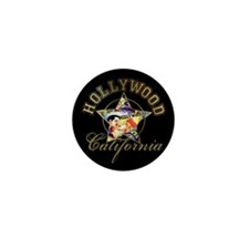 Hollywood California Mini Button (100 pack)