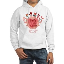 Personalized Gift for 2nd Annive Hoodie