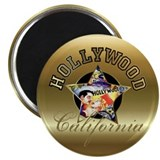 "Hollywood CA Walk Of Fame 2.25"" Magnet (100 pack)"