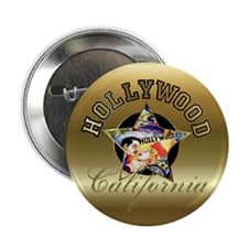 Hollywood CA Walk Of Fame Button
